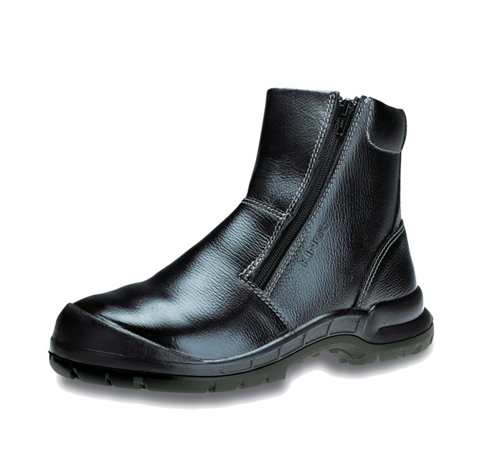 KING'S Safety Boots Zip-up Full Grain Leather (KWD806)