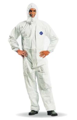 Dupont Chemical Protection Overalls DP-TYVEK
