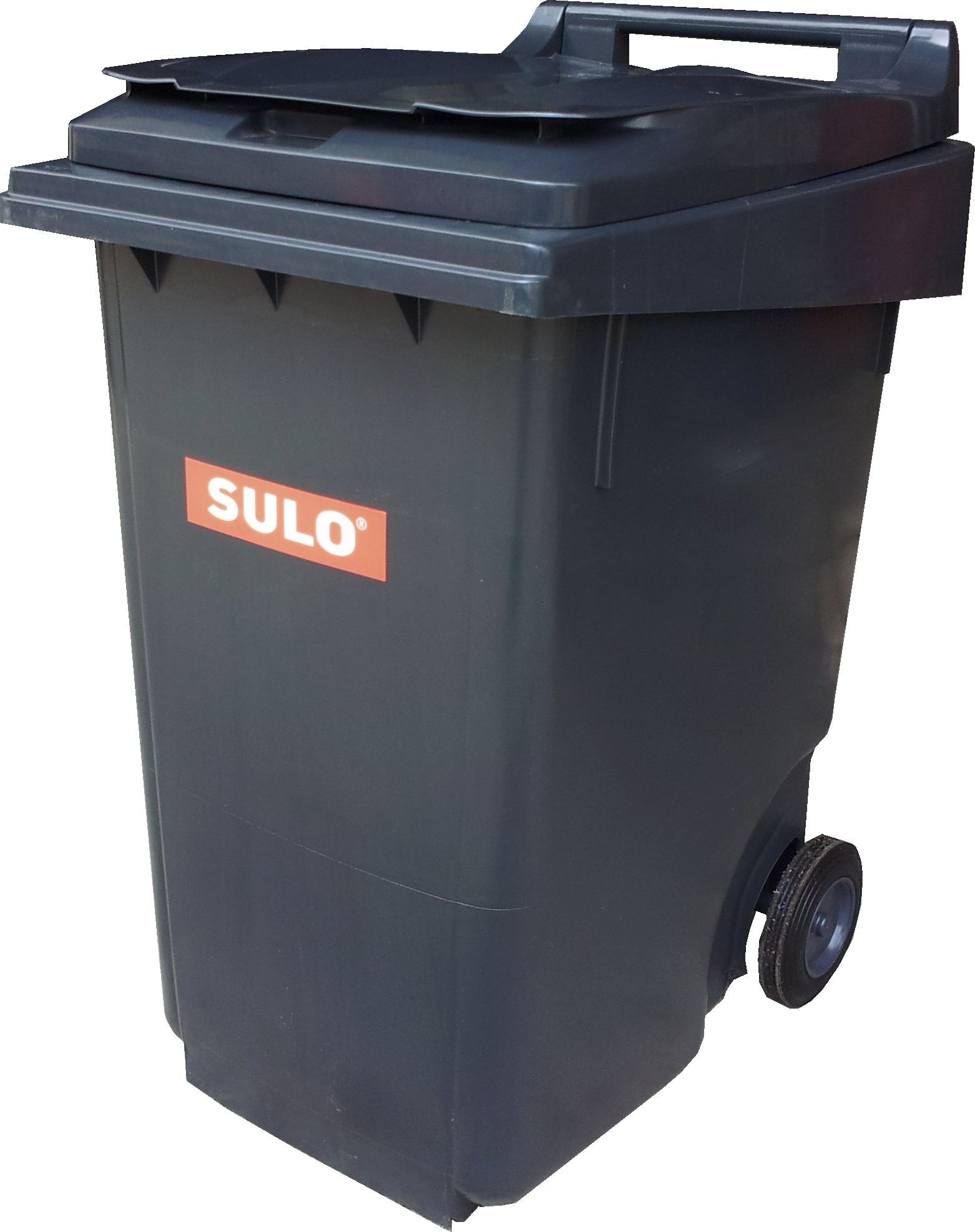 SULO 360L 2 WHEEL PLASTIC MOBILE GARBAGE BIN