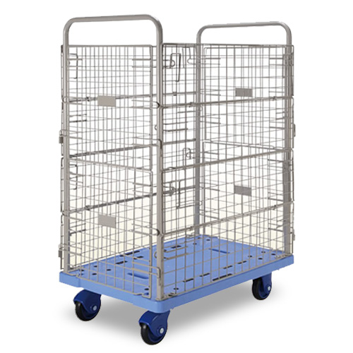 Prestar Side Net Plastic Worktainer Trolley PF307W