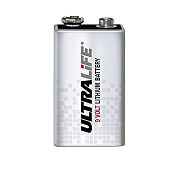 Ultralife 9v Lithium Battery
