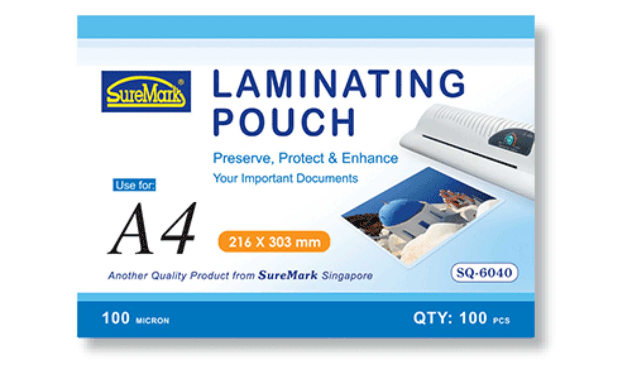 A4 Laminating Pouch