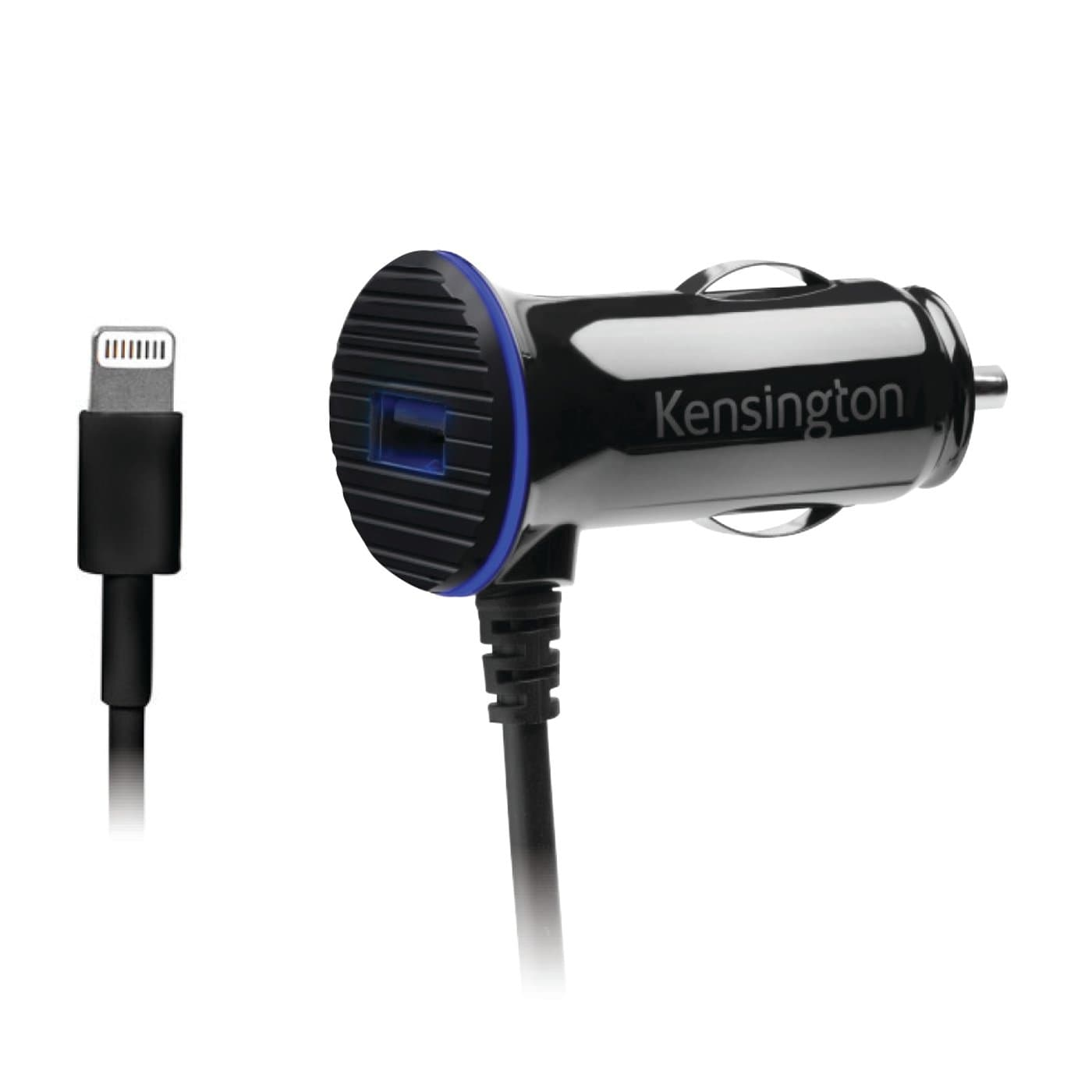KENSINGTON PowerBolt™ 3.4 Dual Fast Charge Car Charger with Lightning Cable K39794WW