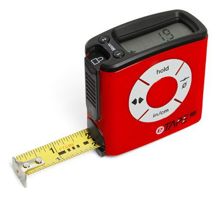 eTAPE¹⁶ 5m16ft Digital Measuring Tape