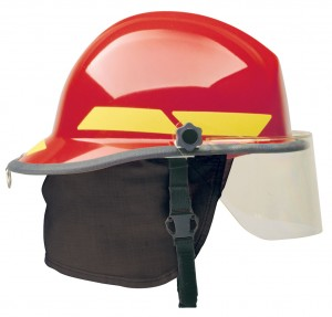 Bullard Structural Fire Helmet Red