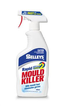 Selleys Rapid Mould Killer 500ml (5 Bottles)