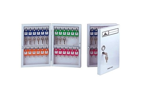 SC-Metal Key cabinet lockable - 24Keys