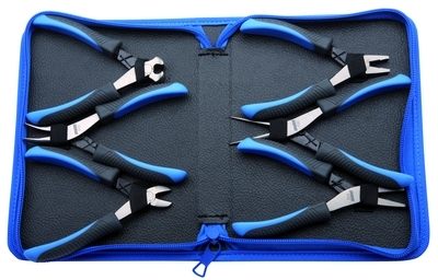 UNIOR Set of electronic pliers in bag 403A