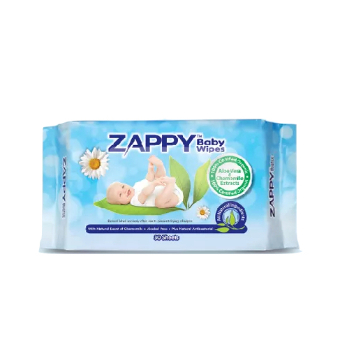 Zappy Organic Baby Wet Wipes 30's (24 Pack a Carton)