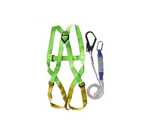 SY General Safety Harness with Shock Absorber, Double Lanyard and Karabiner SY-SH001