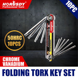 HORUSDY 10PC FOLDING TORX KEY SET 94102