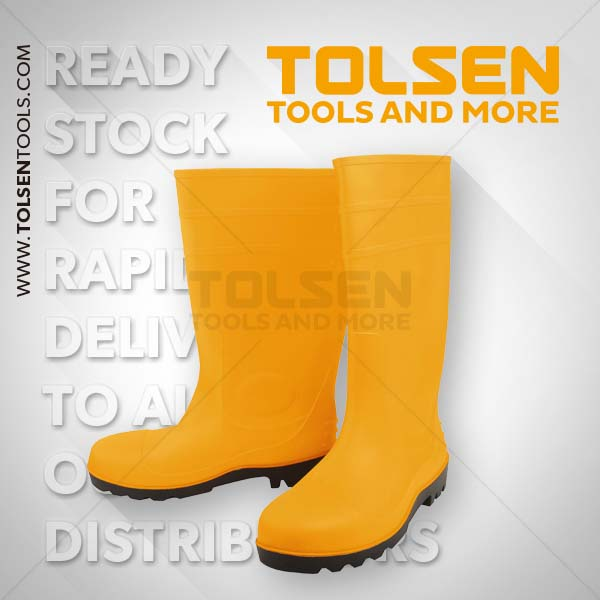 Tolsen Safety Gum Boots