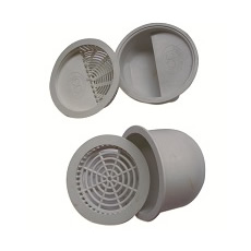 2 in 1 Shower Gully Filter (10 Pairs/set)
