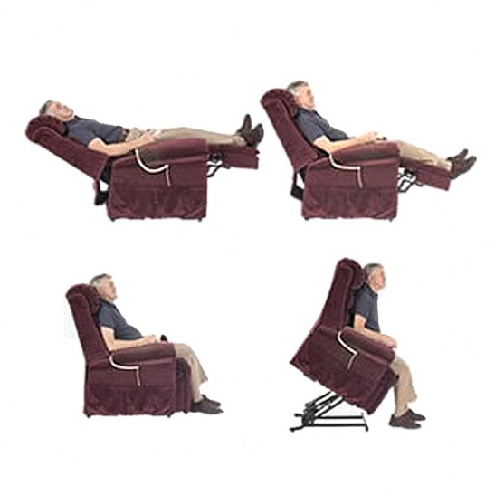 Lifeline Electric Lift Chair Brown