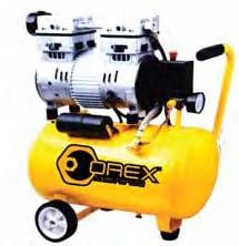 Orex Air Compressor, 24 Liters X 1.0 Hp,Oil Free Silence Type