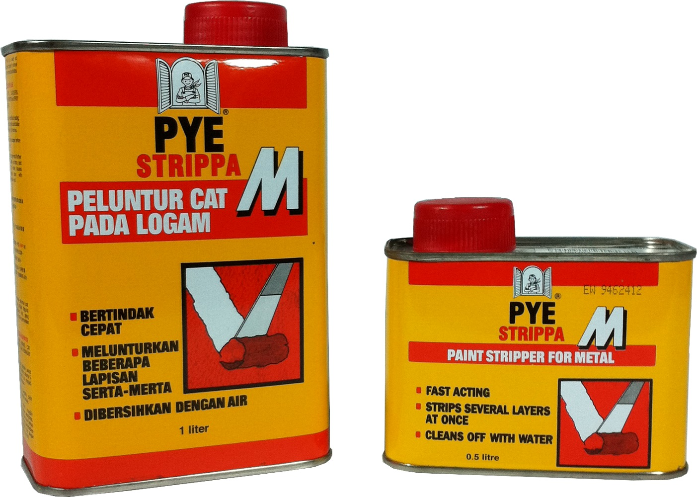 Pye Strippa-m Paint Stripper for Metal Surfaces Clear