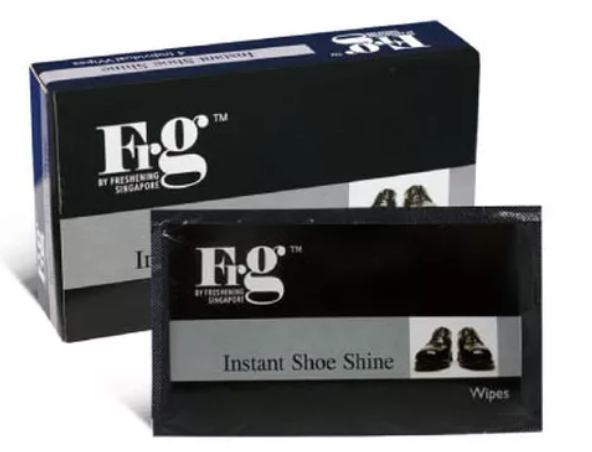 FRG Instant Shoe Shines Wipes (24 Pack a Carton)