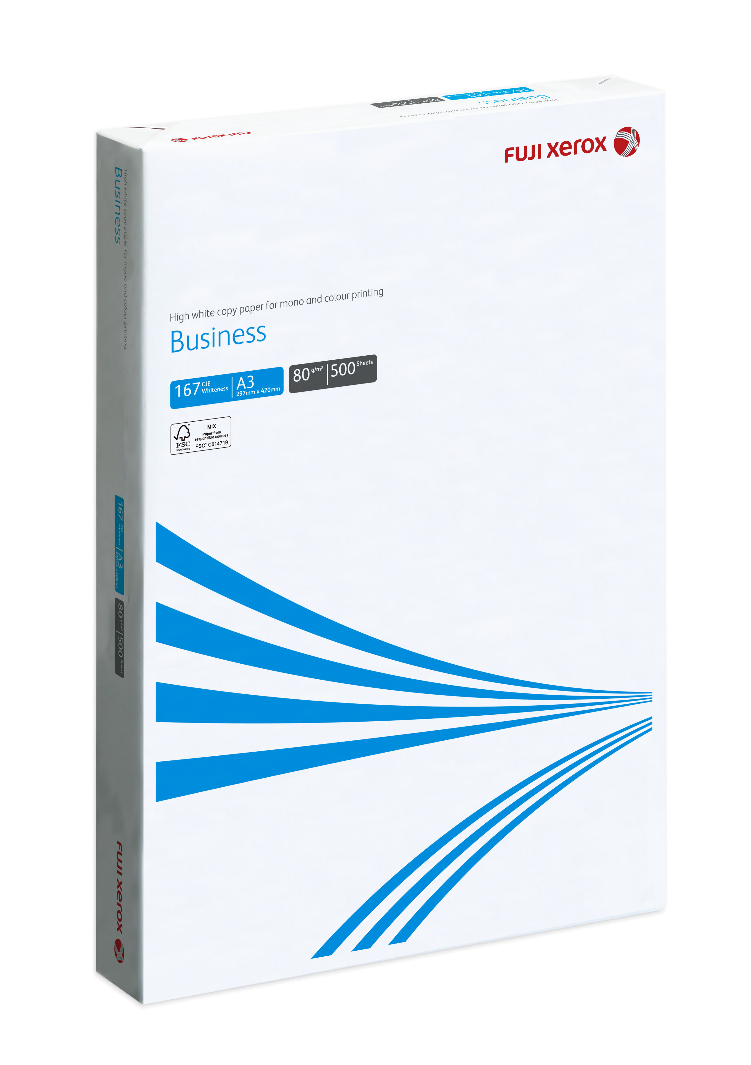 FUJI XEROX COPIER PAPER BUSINESS A3 80GSM FSC™(3 REAMS/BOX)