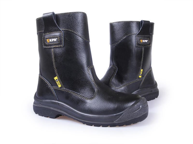 Kpr L-series High Cut Black Rigger Safety Boots
