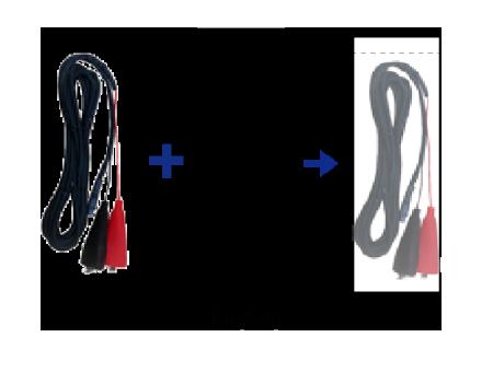 Dukshin 12Volt Dc Cable & Clip For Dep1403