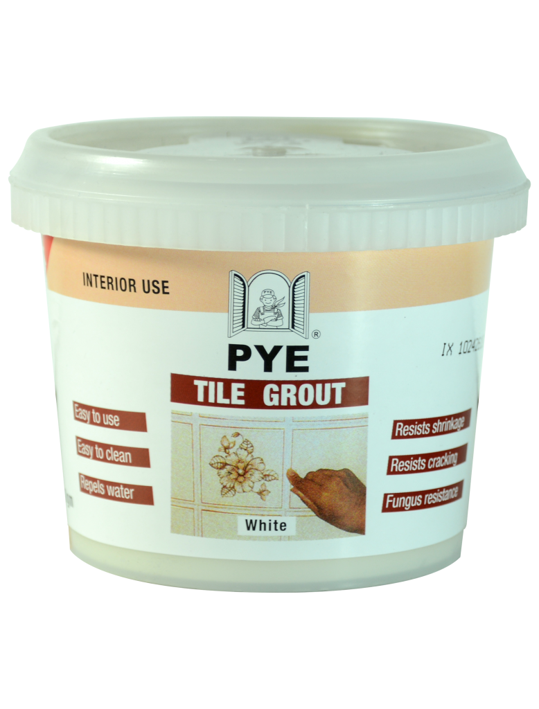 Pye Tile Grout Ready Mixed Grout White 0.5kg White - TG-05