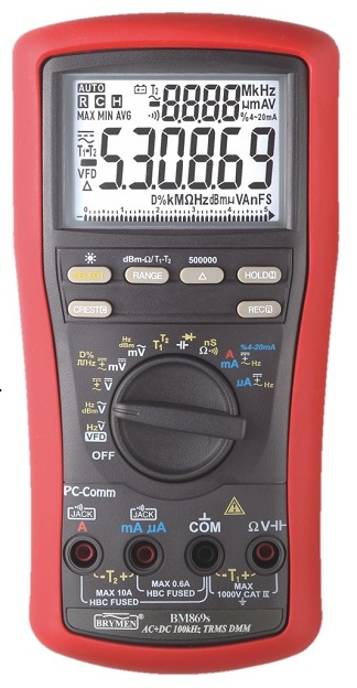 Brymen Multimeter BM869s