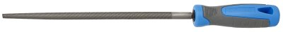 Unior Round File With Handle, Half Smooth 763h1/2s