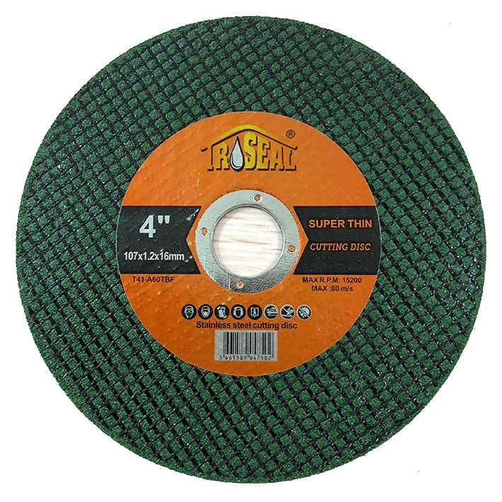 Troseal Cutting Disc 4""