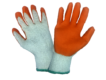 YK Rubber Coated Cotton Gloves C01-RCG-1000