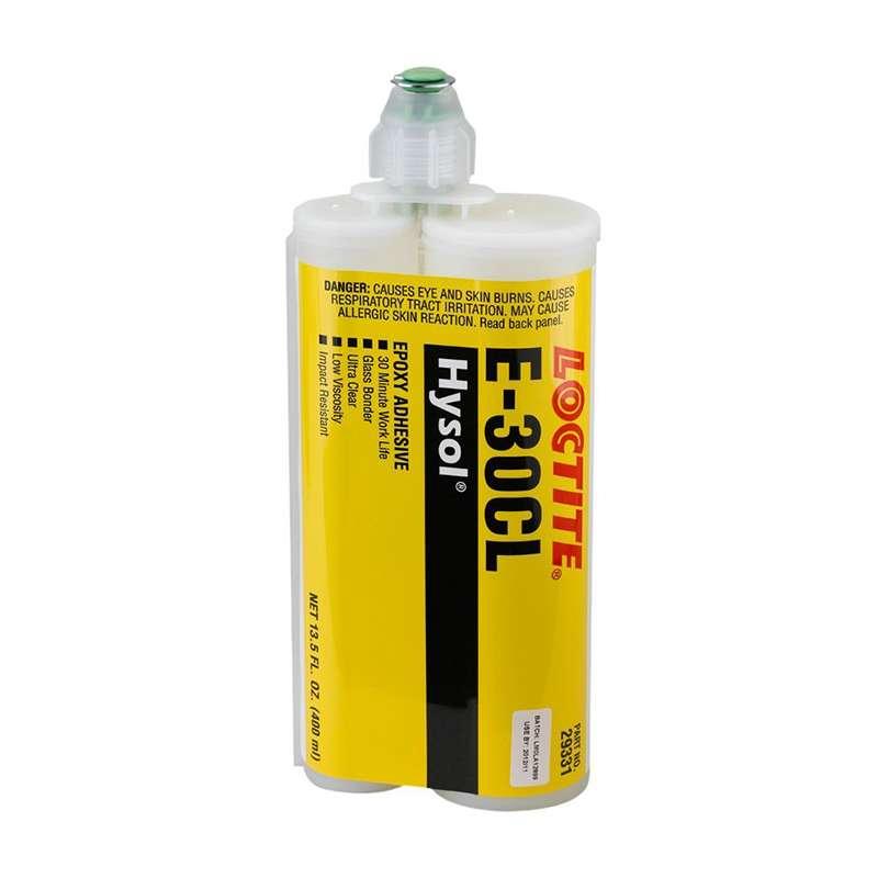 LOCTITE E-30CL Hysol Epoxy Structural Adhesive, Glass Bonder