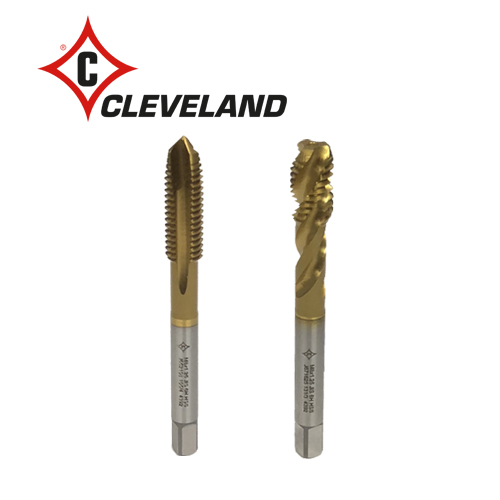089-71 CLEVELAND MACHINE TAPS, HSS TiN COATED (JIS)