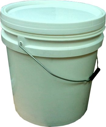 20 Litres Polypropylene (pp) Pail - Industrial Packaging Container