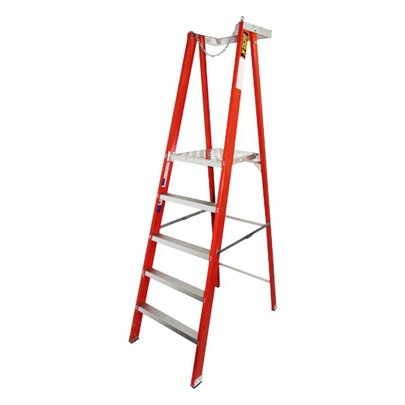 SK Fibreglass Platform Ladder FGPL