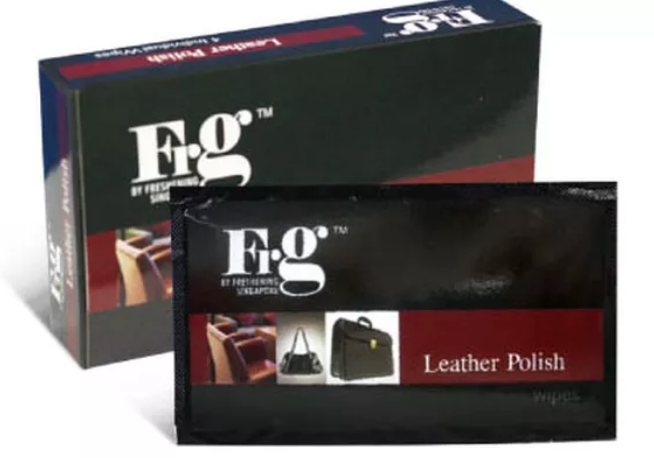 FRG Leather Polish Wipes (24 Pack a Carton)
