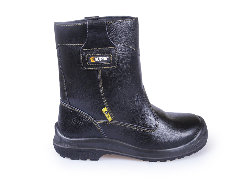 111e641e51be Kpr L-series High Cut Black Rigger Safety Boots Singapore - Eezee