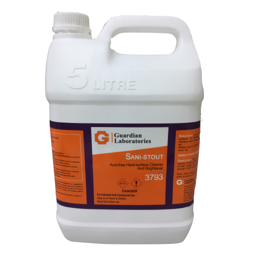 Guardian Hard Surface Cleaner and Brightener Sani Stout 3793
