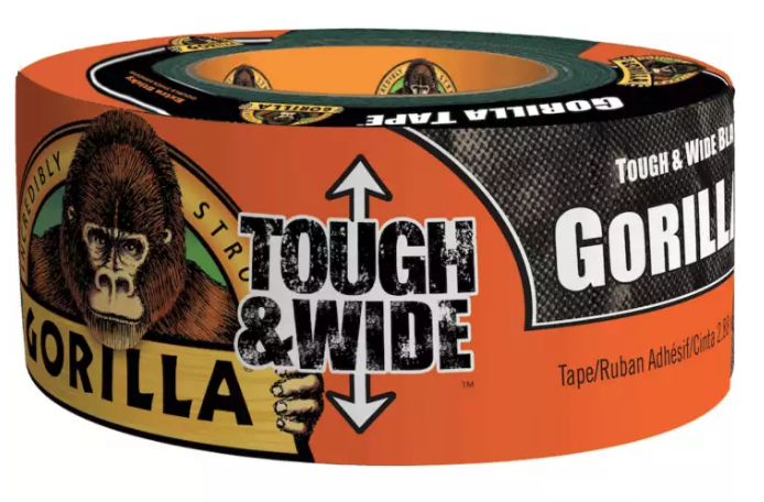 Gorilla Tough and Wide Tape (Black) 6003001