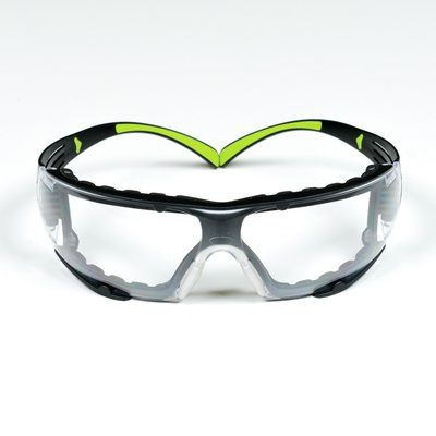 3m™ Securefit™ Safety Glasses SF401AF-FM, Foam, Clear Anti-fog Lens