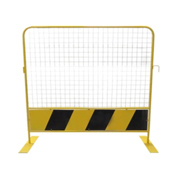 SY Safety Metal Barricade with Wire Mesh 1.8Mtr x 1.8Mtr SY-SMBWM1.8
