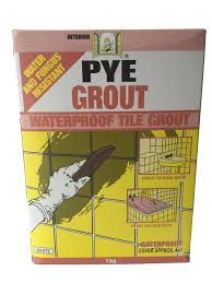 Pye Grout Waterproof Tile Grout 1kg White WAGR-10