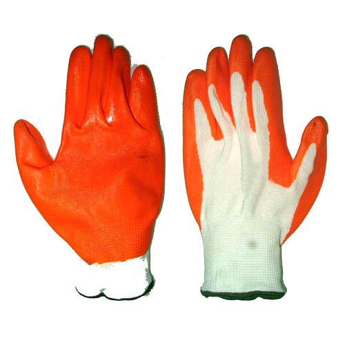 Pro Rubber Coated Cotton Gloves Cyrtw