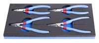 Unior Set of Lock Ring Pliers in Sos Tool Tray 964/8ASOS