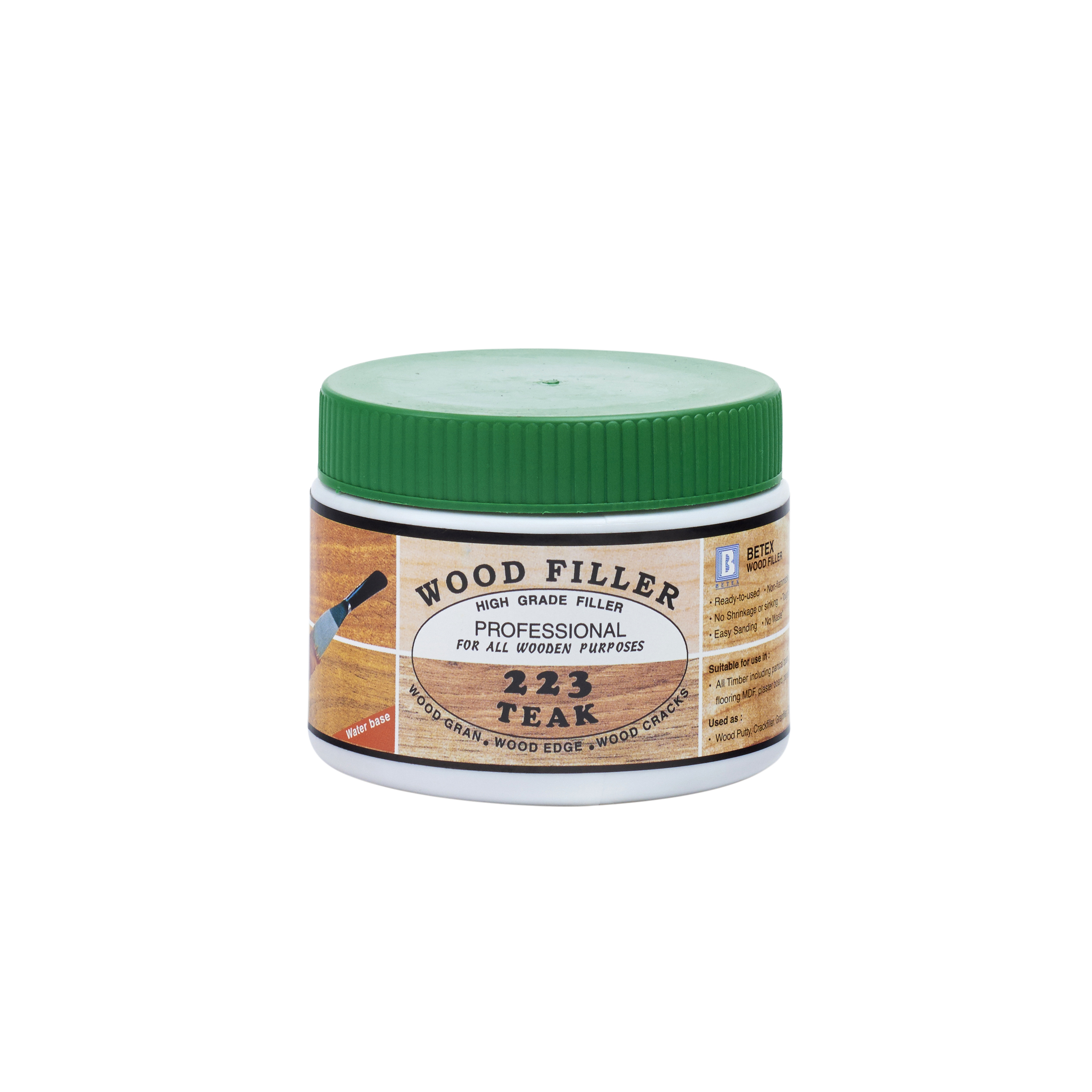 Betex Water Based Wood Filler - 700gram