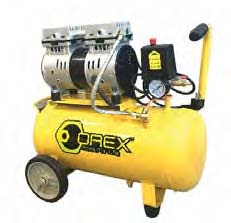 Orex Air Compressor, 19 Litres X 0.73Hp,Oil Free Silence Type