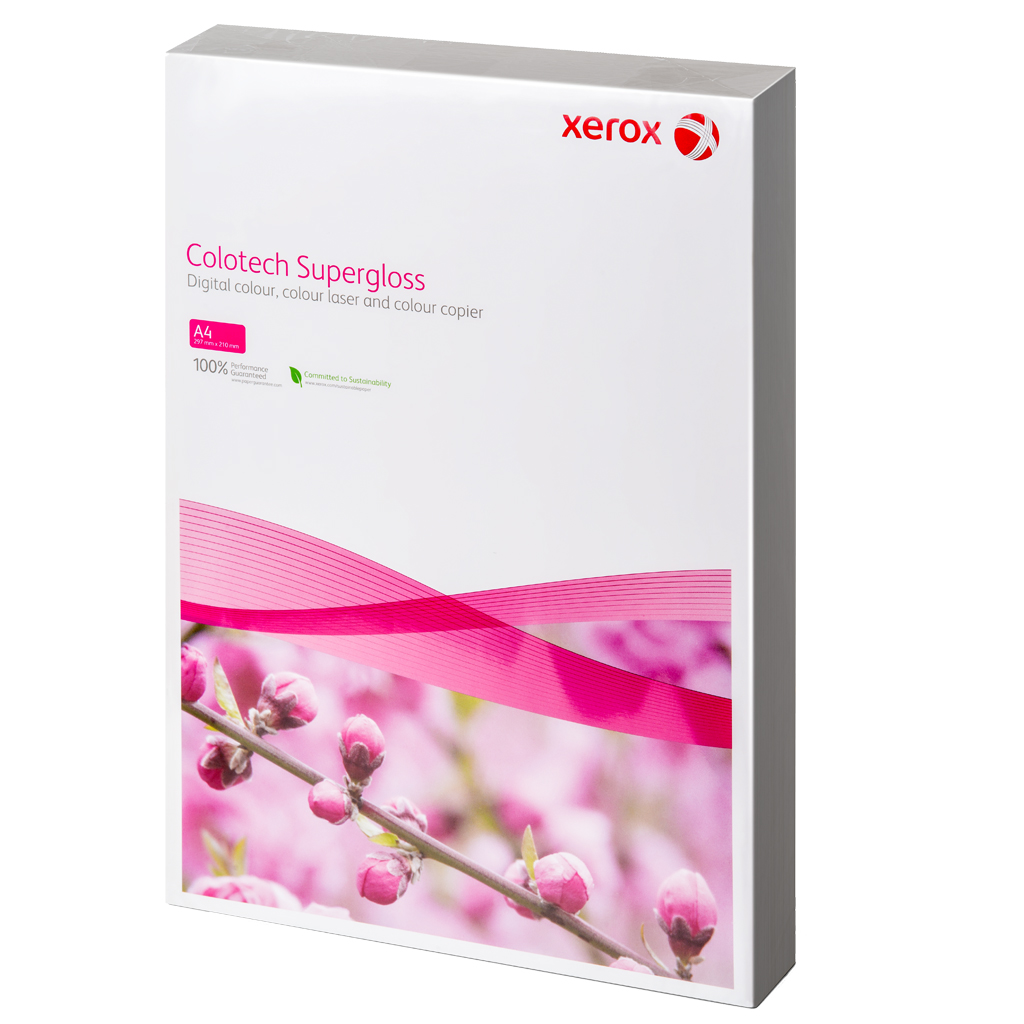 FUJI XEROX COLOTECH+ SUPER GLOSS 210GSM, A4 125 SHEETS