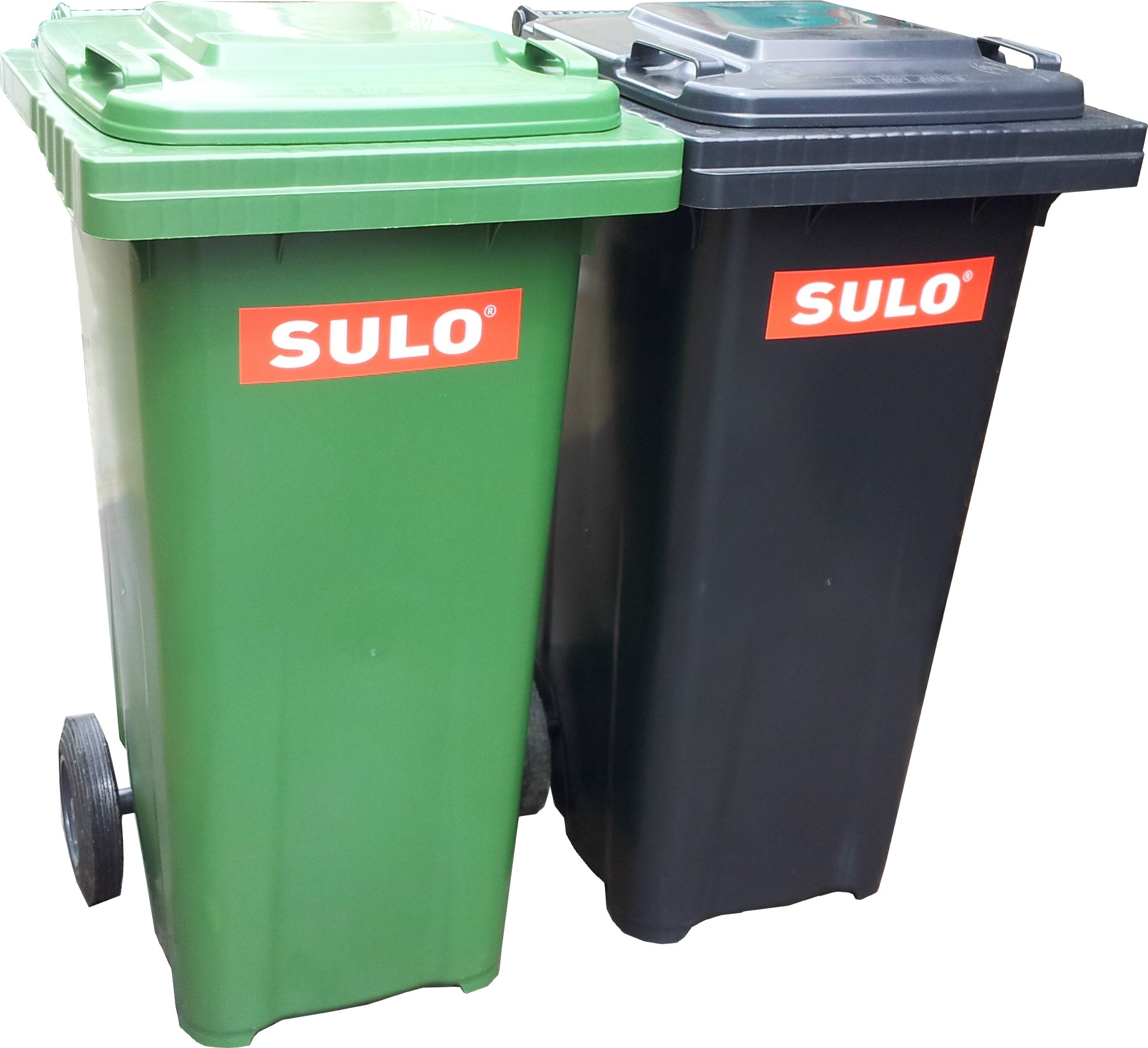 SULO 240-LITRES 2 WHEELS HIGH DENSITY POLYETHYLENE (HDPE) MOBILE GARBAGE BIN (MGB)