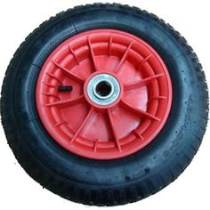 Prestar Pneumatic Wheel With Plastic Rim, 13 X 3(3.00-8)(Tr1)  -PW1303