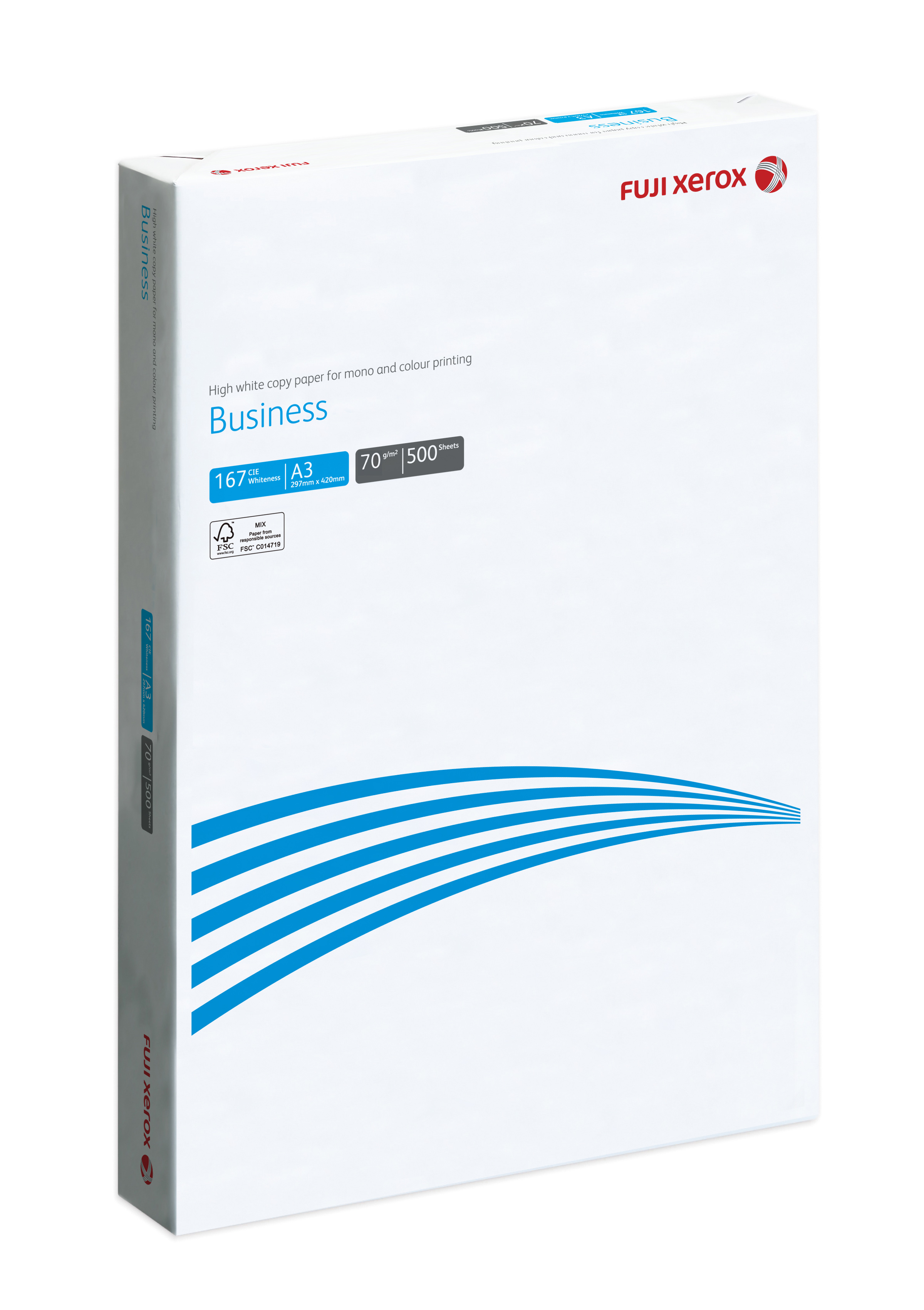 FUJI XEROX COPIER PAPER BUSINESS A3 70GSM FSC™(3 REAMS/BOX)