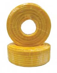 Orex Reinforced Hose Yellow