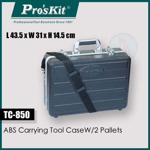 Abs Carrying Tool Case W/2 Pallets (pro'skit)